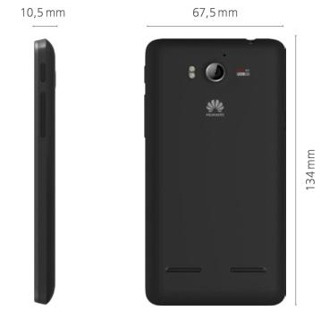 Размеры Huawei Ascend G615