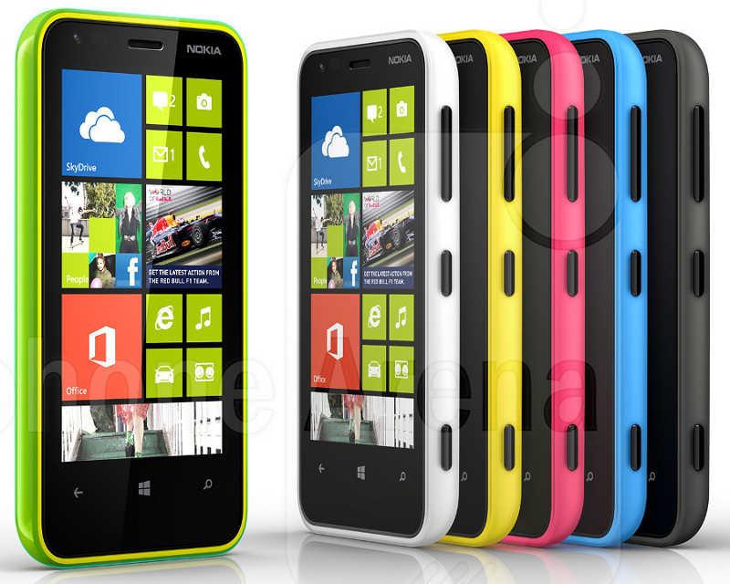 Цвета Nokia Lumia 620