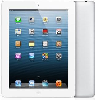 белый iPad 4 с 128Гб
