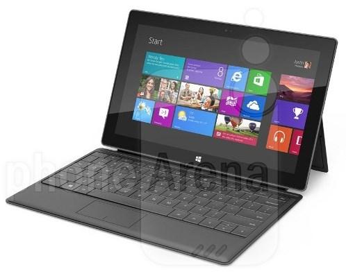черный Microsoft Surface Pro