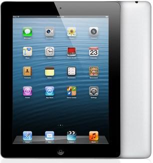 черный iPad 4 с 128Гб