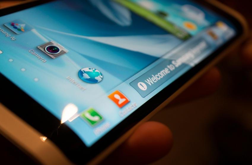 фото Samsung с гибким экраном