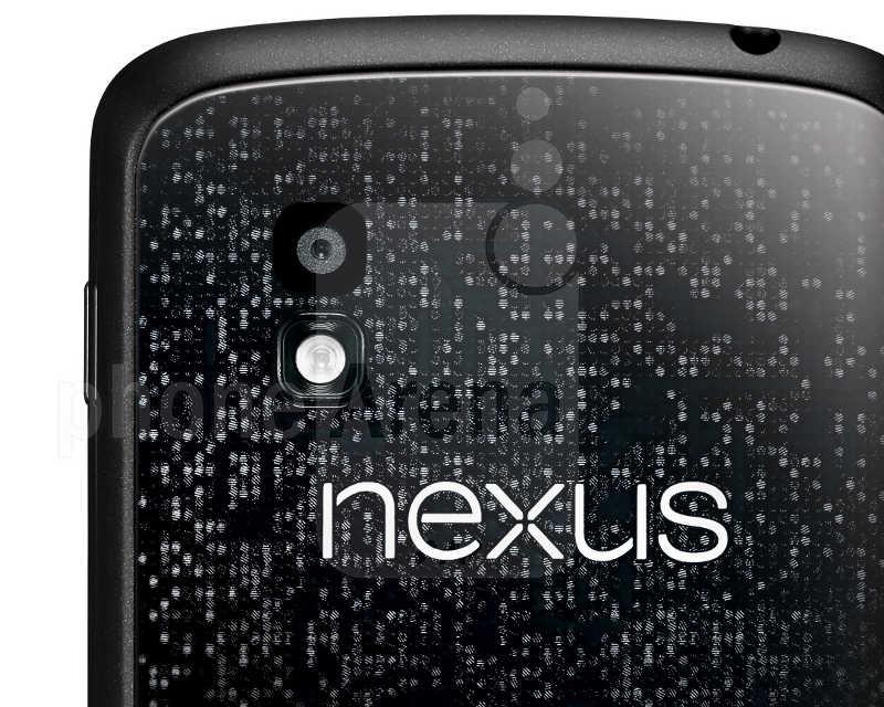 фото задней крышки LG Google Nexus 4