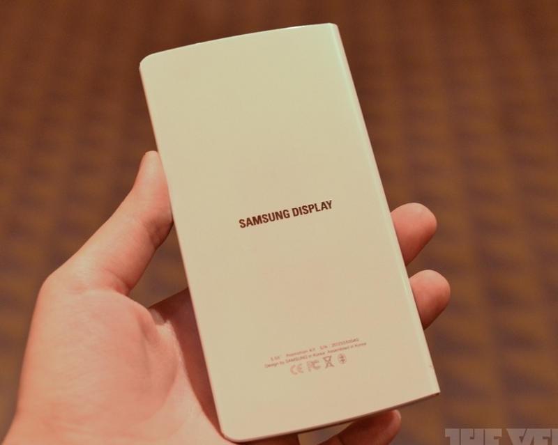 задняя крышка Samsung с гибким дисплеем