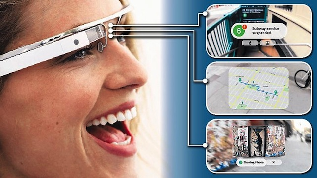 функции Google Glass 2013