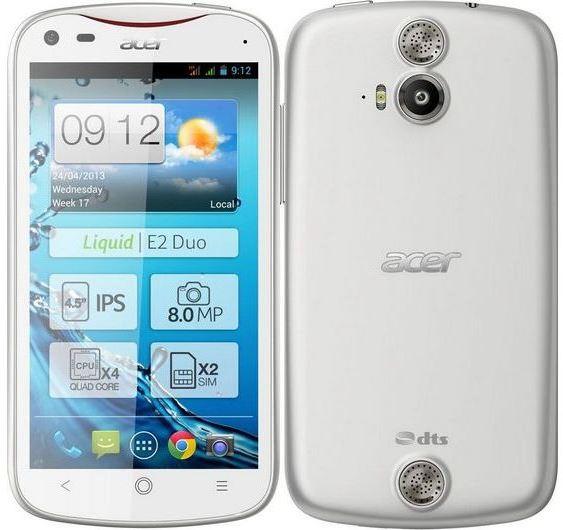 смартфон Acer Liquid E2