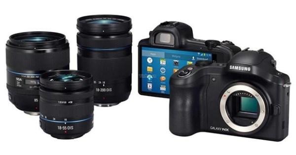объективы Samsung Galaxy NX
