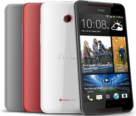 цвета HTC Butterfly S