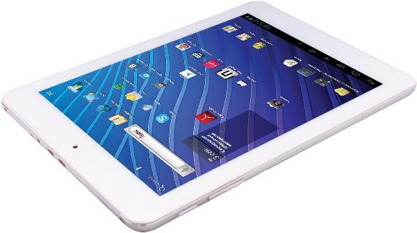 фото планшета Ritmix RMD-870 сбоку