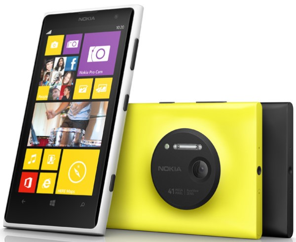 фото смартфона Nokia Lumia 1020