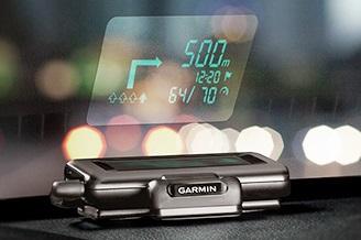 отображение навигационной информации Garmin HUD