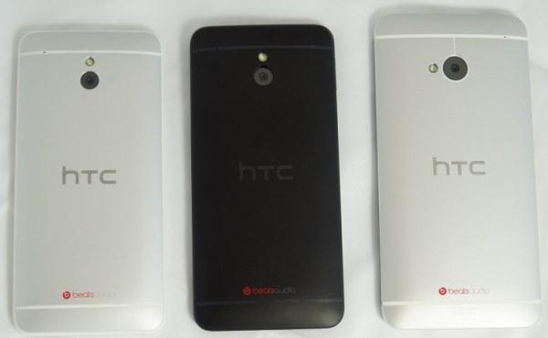 задняя часть HTC One Mini