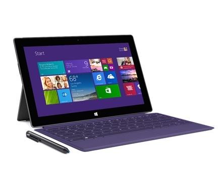 Microsoft Surface Pro 2 с клавиатурой