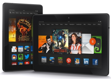 фото Kindle Fire HDX 7 и 8.9 2013