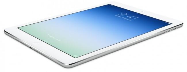 фото iPad Air сбоку