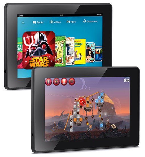 планшеты Kindle Fire HDX 7 и 8.9