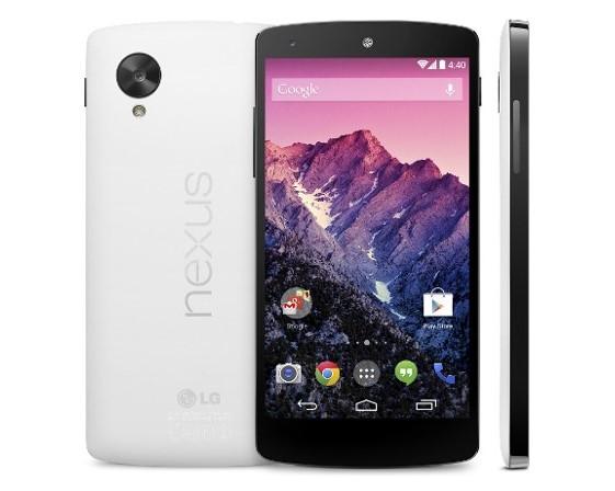 белый LG (Google) Nexus 5