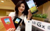фото смартфона LG GX