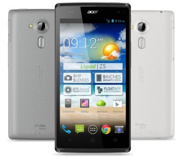 фото Acer Liquid Z5