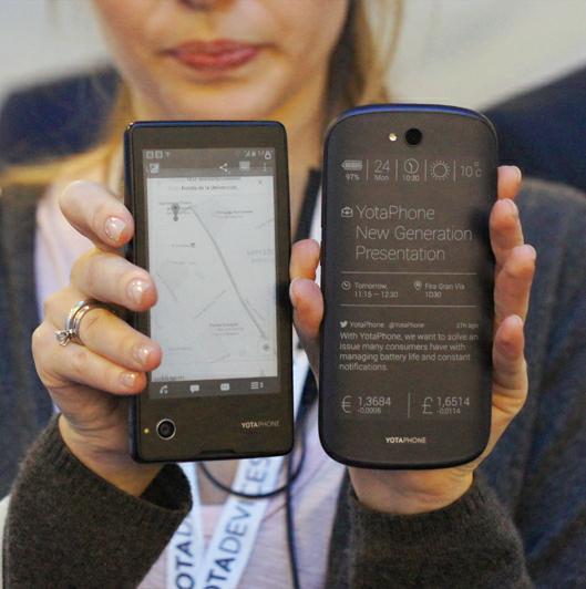 сравнение YotaPhone 2