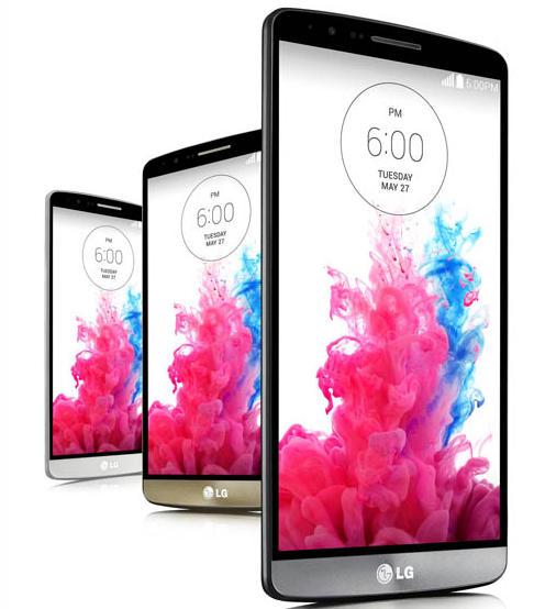 Смартфон LG G3 в России