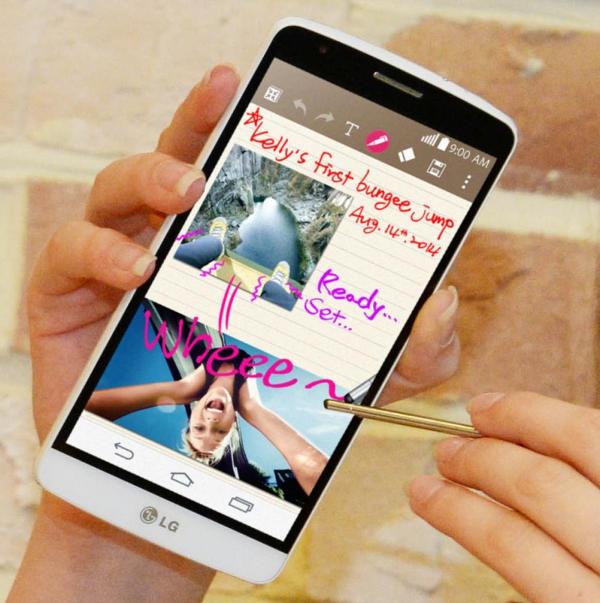камера LG G3 Stylus