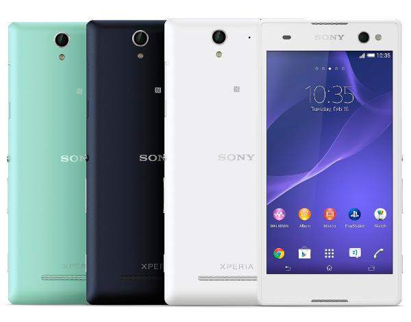 селфи Sony Xperia C3