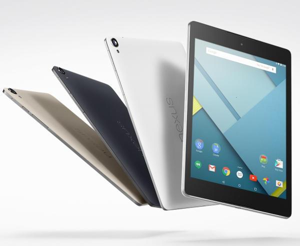 планшет Google Nexus 9 2015
