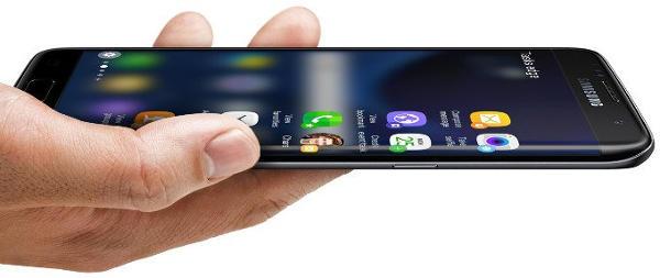 Samsung Galaxy S7 изогнутый экран