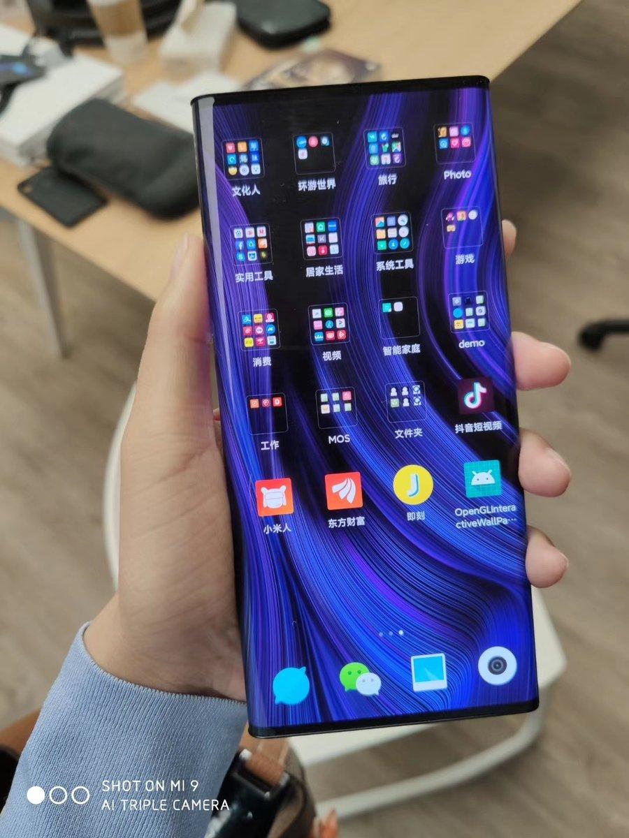 живое фото Xiaomi Mi Mix Alpha