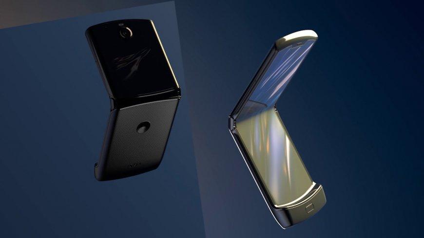 фото раскладушки Motorola RAZR 2020