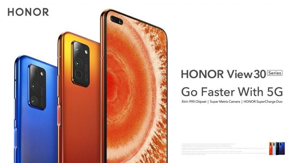 Honor V30 5G и V30 Pro 5G в России