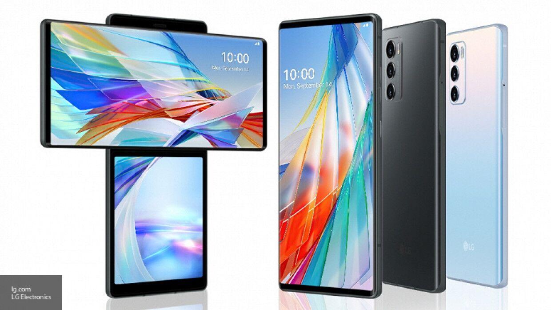 Новый смартфон LG Wing с двумя экранами